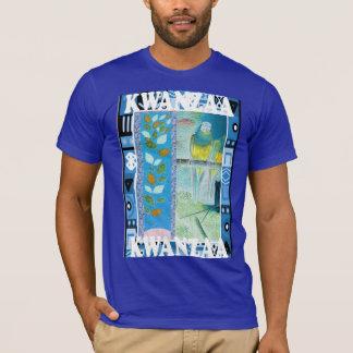 Feiern Sie Kwanzaa, traditionelle Dekoration T-Shirt
