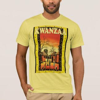 Feiern Sie Kwanzaa, traditionelles Dorf 1 T-Shirt