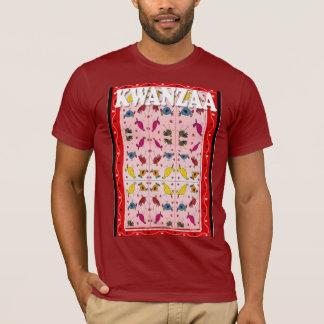 Feiern Sie Kwanzaa, traditionelles Muster T-Shirt