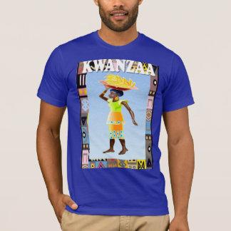 Feiern Sie Kwanzaa und einen Korb tragen T-Shirt