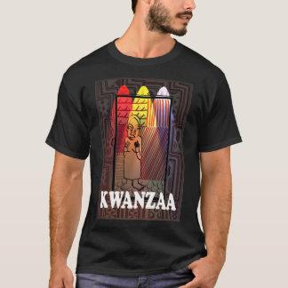 Feiern Sie Kwanzaa, Zahl in den Lichtern T-Shirt