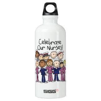 Feiern Sie unsere Krankenschwestern Wasserflasche