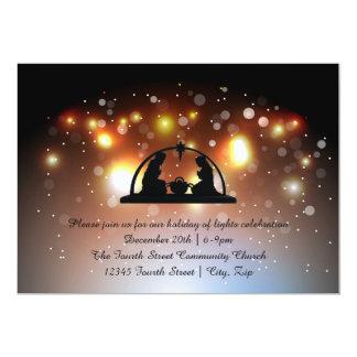 Feiertag der Licht-Geburt Christi - Karte