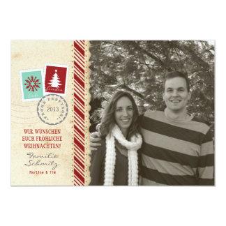 Feiertag Fotokarte Vintage 12,7 X 17,8 Cm Einladungskarte