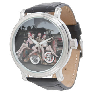 Feiertag jubelt Button Ratten-Rod Sankt herauf Armbanduhr