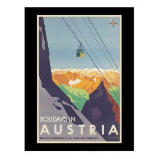 Feiertage in Österreich Postkarte