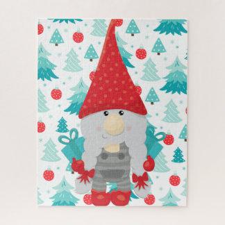 FeiertagGnome mit Geschenken Puzzle