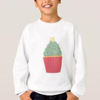 Feiertags-kleiner Kuchen Sweatshirt