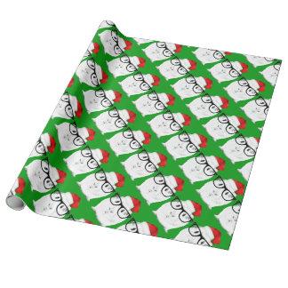 Feiertags-Meerschweinchen Geschenkpapier