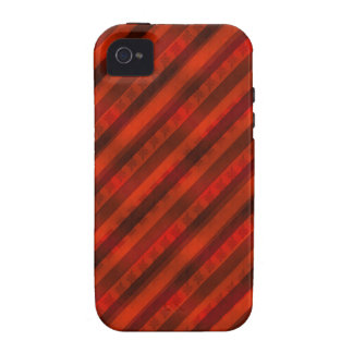 """Feiertags-""""rotes Packpapier-"""" kundenspezifisches Case-Mate iPhone 4 Case"""