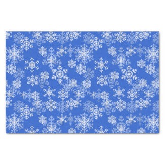 Feiertags-Schneeflocke-Gewebe-Papier-Königliches Seidenpapier
