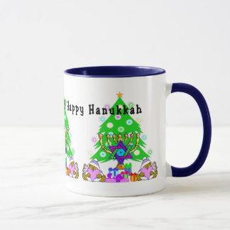 Feiertags-Spaß zwischen Glaubensrichtungen Tasse