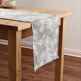 Feiertags-Tabelle Läufer-Schneeflocken Großer Tischläufer