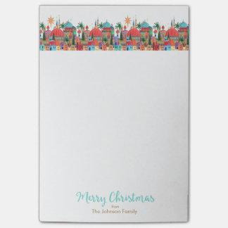 Feiertags-Weihnachten | merkt | klebrige Post-it Klebezettel