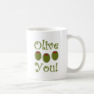 Feinschmecker-Olive Sie Tasse