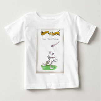 Feinster Puddings Liebe-Yorkshire-Krickets ' Baby T-shirt