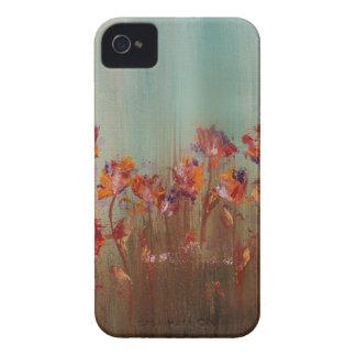 Feld der roten Blumen iPhone 4 Case-Mate Hüllen