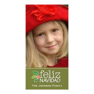Feliz Navidad: Ein großes Foto Individuelle Photo Karte