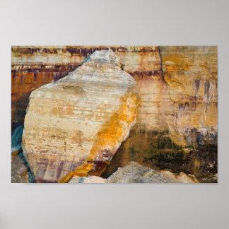 Felsen, dargestellter Felsen-Staatsangehöriger Poster