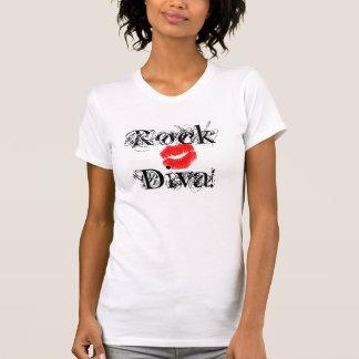 """Felsen-Diva, T - Shirt des Diva-Felsen-I"" -"