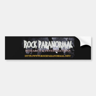 Felsen-Paranormal Logo 2 Autoaufkleber