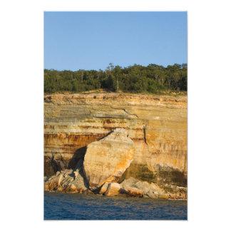 Felsen-Platten, dargestellter Kunstphoto