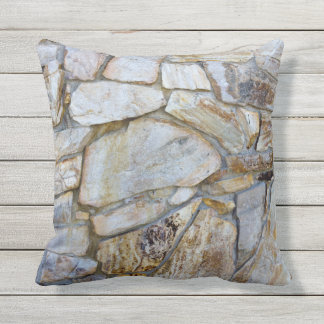 Felsen-Wand-Beschaffenheits-Foto auf Pilllow Kissen Für Draußen