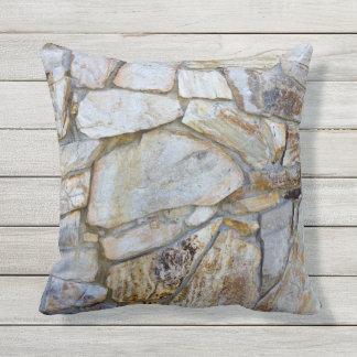 Felsen-Wand-Beschaffenheits-Foto auf Pilllow Zierkissen