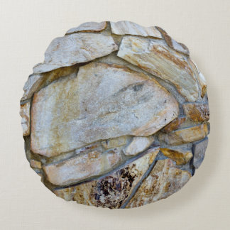 Felsen-Wand-Foto Rundes Kissen