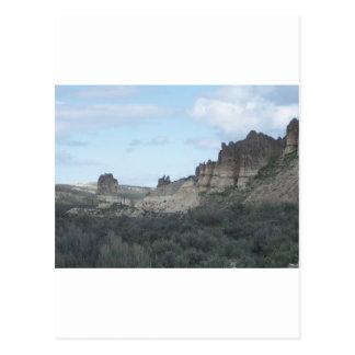 Felsige Klippen-Ansicht Postkarte