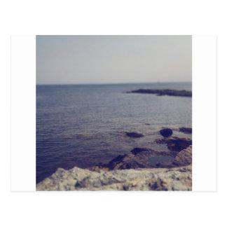 Felsige Küste Postkarte