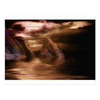 Felsige Ufer Postkarte