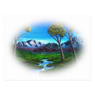 Felsiger Berg Postkarte
