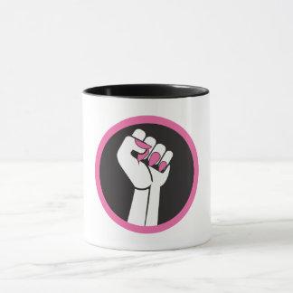 Feministische Tagesordnungs-Kaffee-Tasse Tasse