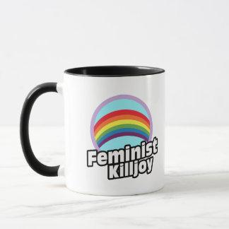 Feministischer Killjoy - RegenbogenKilljoy -- Tasse