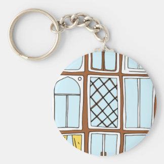 Fenster Standard Runder Schlüsselanhänger