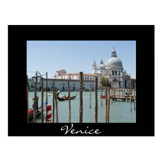 Ferien in der postkarte