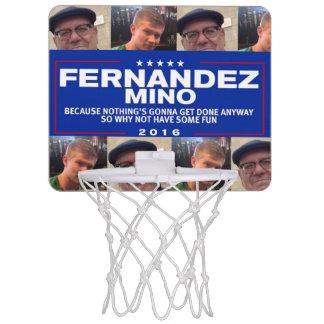 Fernandez-Mino Basketballkorb Mini Basketball Ring