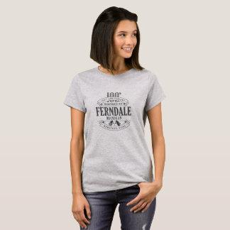 Ferndale, 100. T - Shirt Michigans