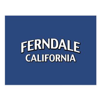 Ferndale Kalifornien Postkarte