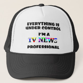 Fernsehnachrichten Pro Truckerkappe