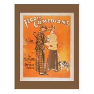 """Ferris Schauspieler """"Schrittmacher zu populären Postkarte"""