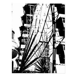 Ferris Wheel_01.01_G mit Berlin Fernsehturm, Alex Postkarte
