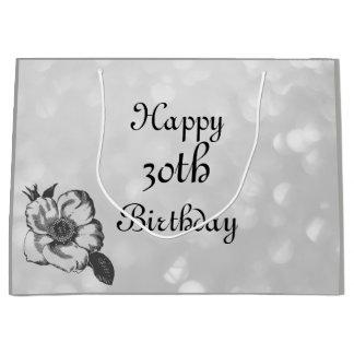 Fertigen Sie diesen glücklichen 30. Geburtstag Große Geschenktüte