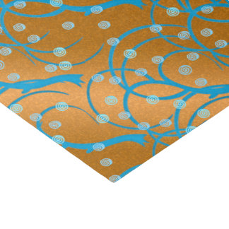 Fertigen Sie Goldjasmin-Prallplatten-Art besonders Seidenpapier