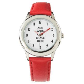 fertigen Sie Ihr großes Ziffernuhrporträt Armbanduhr