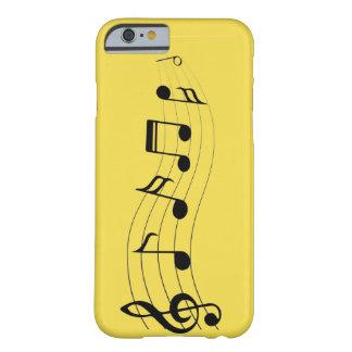 Fertigen Sie musikalische Anmerkungen besonders an Barely There iPhone 6 Hülle