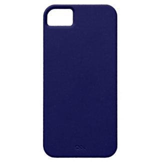 Festes Marine-Blau iPhone 5 Schutzhülle