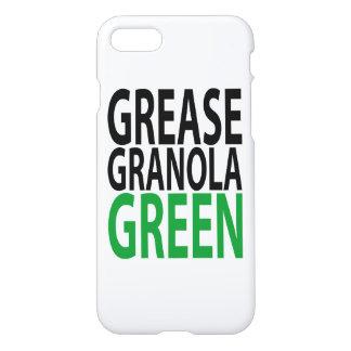 Fett, Granola, GRÜN iPhone 8/7 Hülle