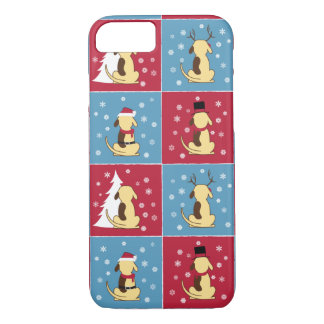 Fetter HundeweihnachteniPhone 6 Fall iPhone 8/7 Hülle